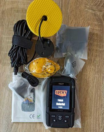 Эхолот LUCKY FF718LiC 2в1 с проводным и беспроводным датчиком