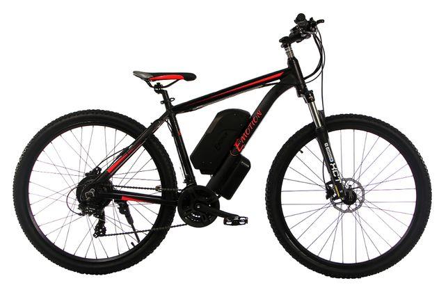 """Электровелосипед E-motion MTB GT 27,5"""", 48V 16Ah 500W черно-красный"""