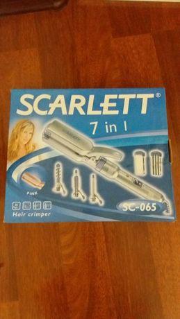Плойка для волос набор Scarlett 7в1