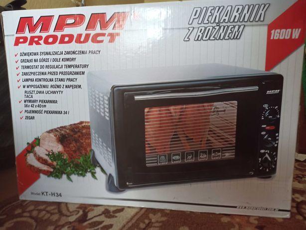 Piekarnik z rożnem MPM KT-H34, 1600W, nieużywany