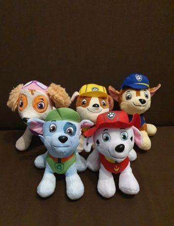Psi patrol maskotki paw patrol komplet