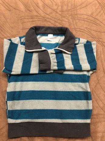 Флисовый костюм на мальчика 2-3 годика