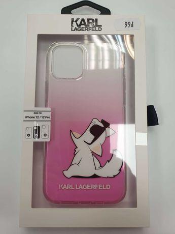 Etui KARL LAGERFELD iPhone 12 / 12 Pro KLHCP12MCFNRCPI Choupette Fun