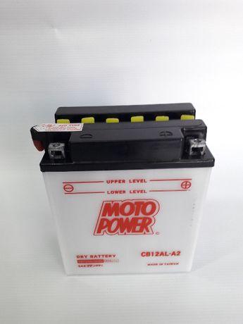 Akumulator CB12AL-A2 MOTO POWER 12V 12Ah 165A