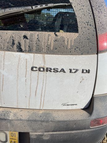 Opel 1.7 dI acidentado