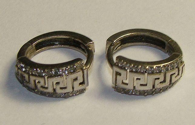 TANIO ! kolczyki srebro pr.925 -Firma Szafir- wzór S70