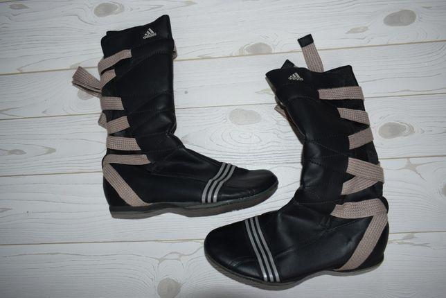 ADIDAS r. 35-36 wk. 22 cm wyższe buty wyjątkowe wiązane limited