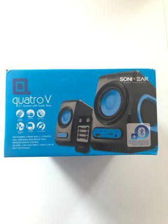 NOWE Głośniki + radio FM SonicGear Quatro V