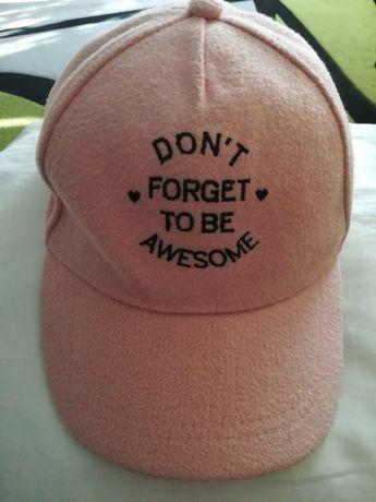 Reserved czapka z daszkiem damska M