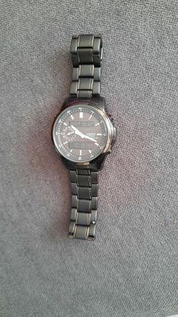 Casio zegarek, solar, automatyczna aktualizacja godziny
