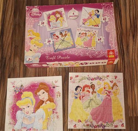 Puzzle księżniczki Disney