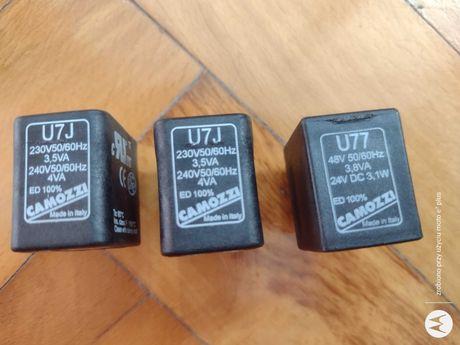 cewka elektromagnetyczna Camozzi U7J oraz U77