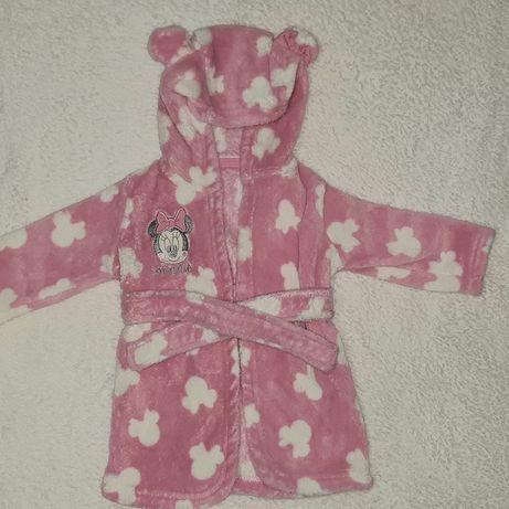 Махровий халатик для дівчинки