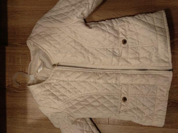 Wiosenna kurtka pikowana dla dziewczynki