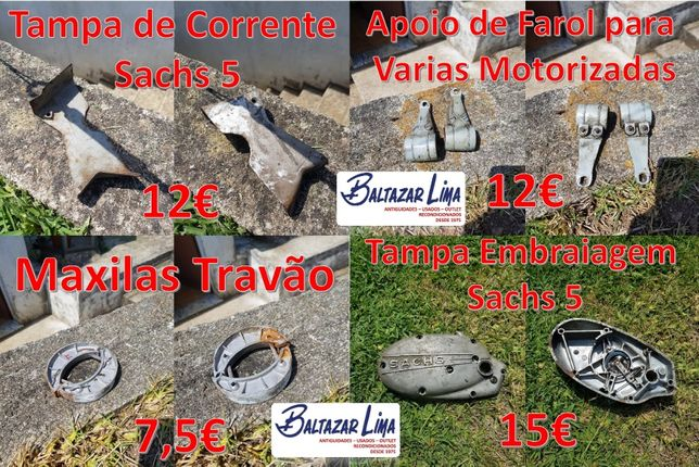 Peças Várias Motorizadas Sachs Casal Famel Zundapp EFS (Ver Fotos)