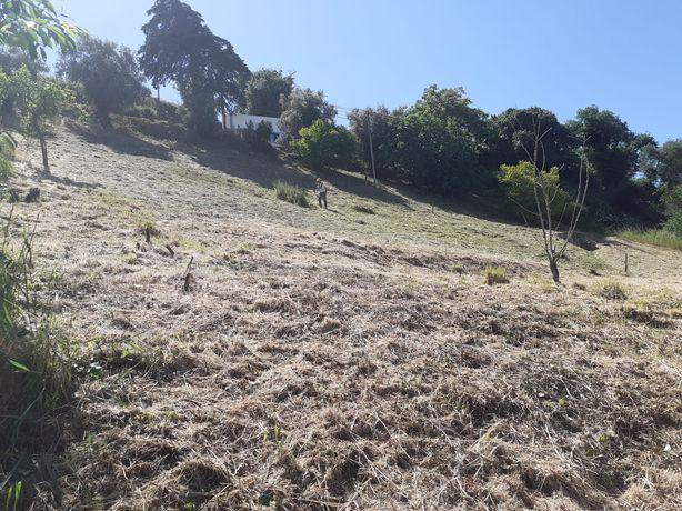 Terreno urbano com excelente vista para a serra de Montejunto
