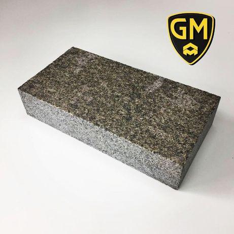 Бруківка гранітна повнопилена , верх термо 200Х100Х50