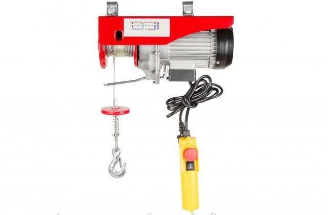 Тельфер Euro Craft HJ202 150/300кг, 1600 Вт, лебедка, Гарантия 1 год