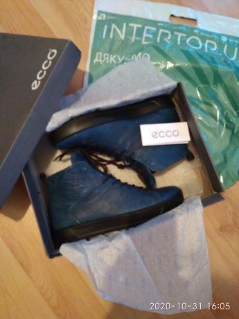 Ботинки мужские демисезонные ECCO оригинал новые