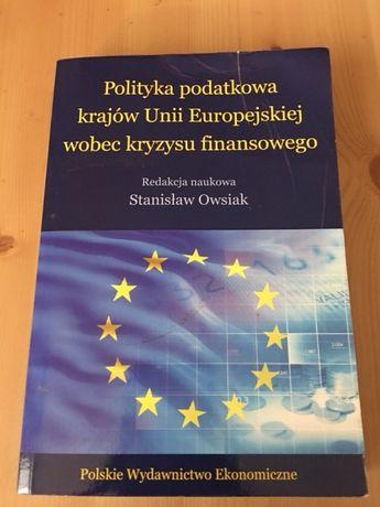 Polityka podatkowa krajów Unii Europejskiej wobec kryzysu finansowego
