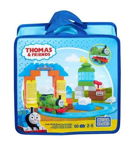 Klocki Tomek i przyjaciele myjnia mega bloks jak lego duplo