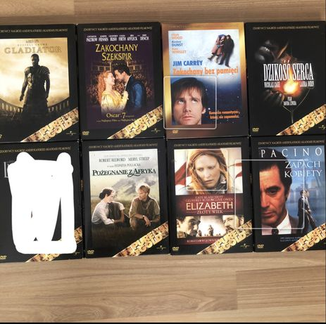 Kolekcja Pure Gold, film filmy dvd, Gladiator, Zapach kobiety, lista i