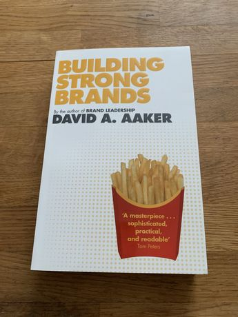 Building strong brands Aaker reklama ksiazka