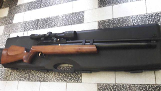 Wiatrowka PCP Hatsan AT44 Long LW i GALATIAN QE 5,5mm zamienie  na CK
