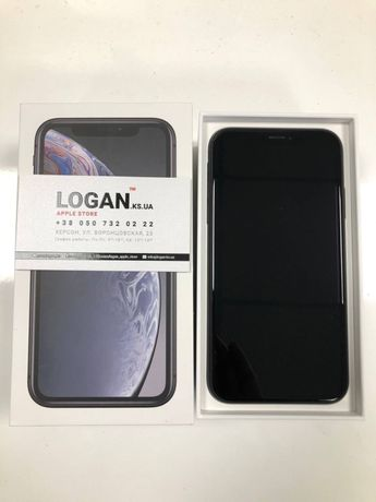 Смартфон Apple iPhone XR Dual Sim 128GB Black (MT192)  б/у