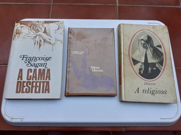 Escritores Portugueses e Franceses - Circulo de Leitores - 8 Livros
