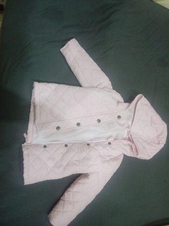 Różowa kurteczka dla dziewczynki