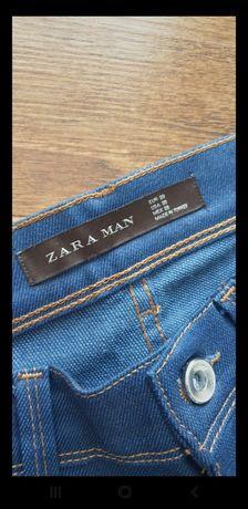 Spodnie męskie zara jeansowe