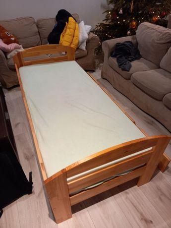 łóżko dziecięce 80x200 drewniane