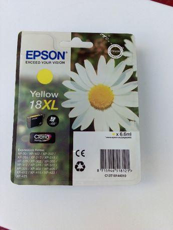 Tinteiro Epson 18XL Amarelo - ORIGINAL