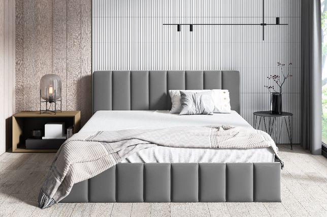 Łóżko tapicerowane ROKO z pojemnikiem stelażem 90/120/140/160/180x200
