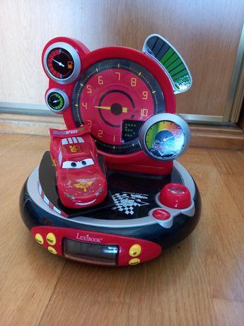 Rádio relógio despertador Cars