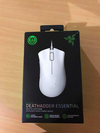 Rato Razer Deathadder Essential White Edition (Branco)