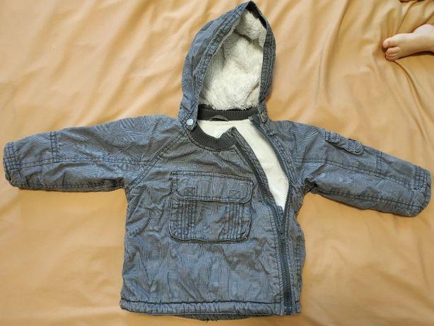 Тепла демі куртка на 2 роки Деми курточка H&М