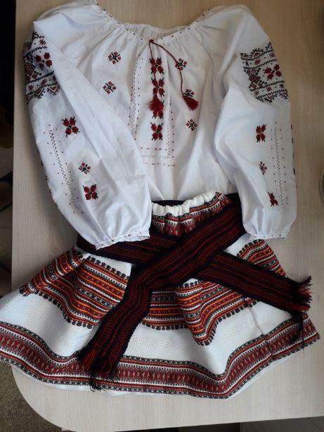 Вышиванка / Украинский костюм на девочку/ Юбка