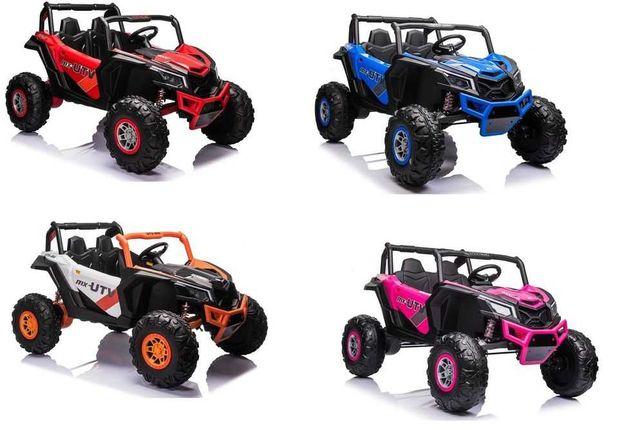 Auto na akumulator Samochód elektryczny dla dzieci Buggy 4x60W +2osobo