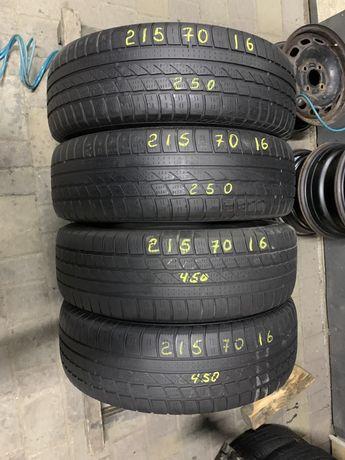 Шини резина 215/70r16 Hankook 4-5mm 4шт. Всесезонні
