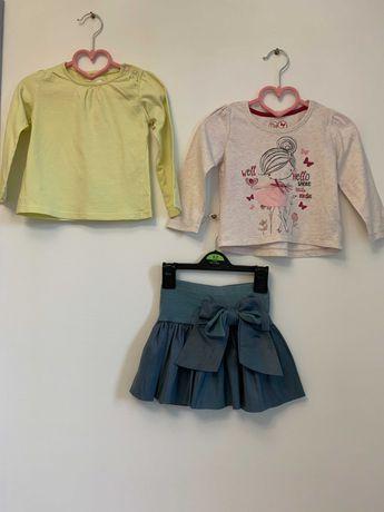 Комплект юбка и 2 реглана Next George Carters 86-92 см 1-2 года