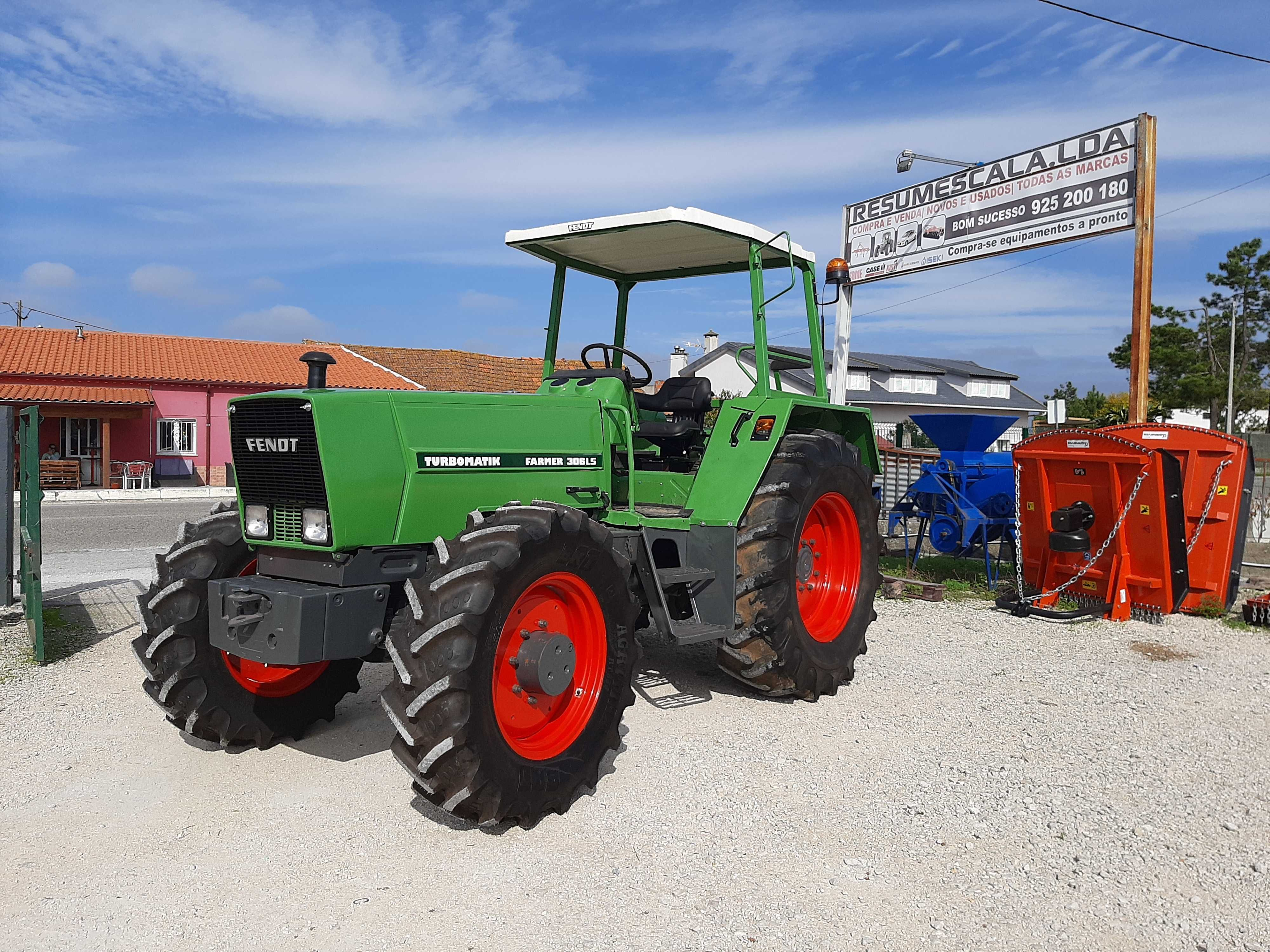 Tractor/Trator Fendt Farmer 306 LSA
