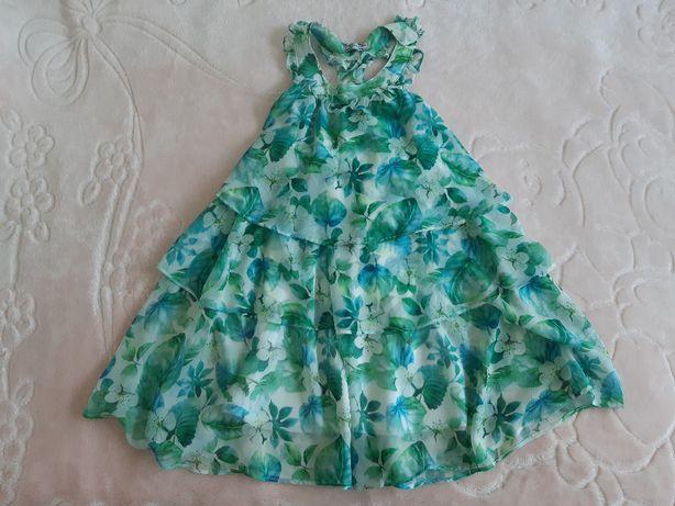 """Urocza sukienka firmy """"Mayoral """" rozmiar 128, wiek 7-8 lat"""