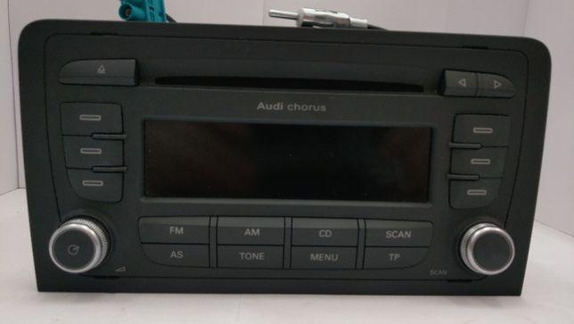 Radio CD Chorus AUDI A3 2DIN + kod