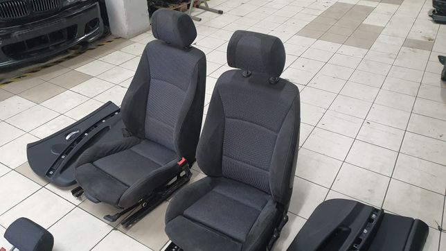 Interior Bmw E90 bancos forras kit pack M sedan Alcântara/tecido Mybmw