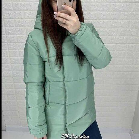Зимняя куртка. Цвет оливка