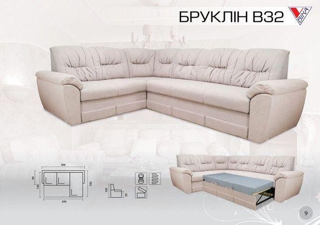 Диван,диван кутовий,диван угловой,уголок,Вика,Vika,Бруклин,мебель