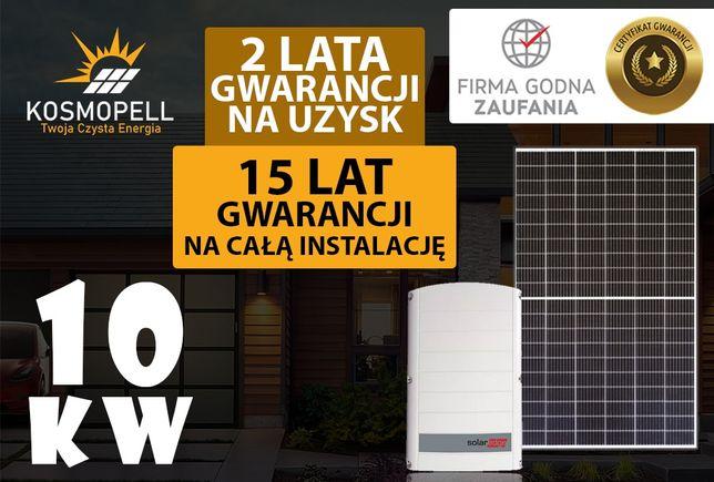 Instalacja fotowoltaiczna 10 kW - 15 Lat Gwarancji - Kosmopell.pl