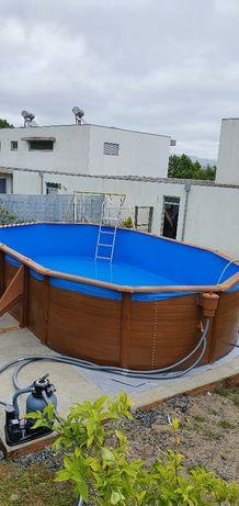 Montagem instalação piscinas